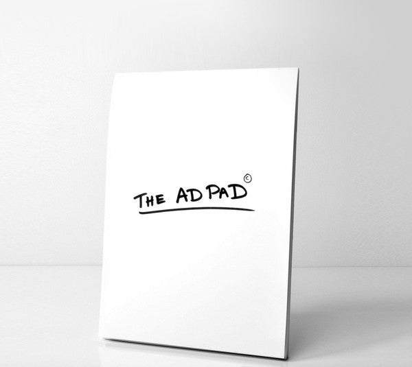 The Ad Pad Plain A4 by Eddy Bennett