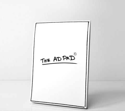 The Ad Pad A4 Border