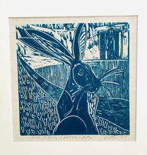 Load image into Gallery viewer, Hare listening at Audley Castle