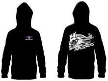 Load image into Gallery viewer, Spooling Skull Hoodie JMK-Industries.com