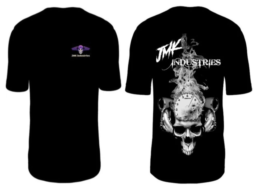Flamen Skull T Shirt JMK-Industries.com