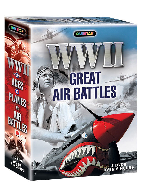WWII: Great Air Battles 3-DVD Set