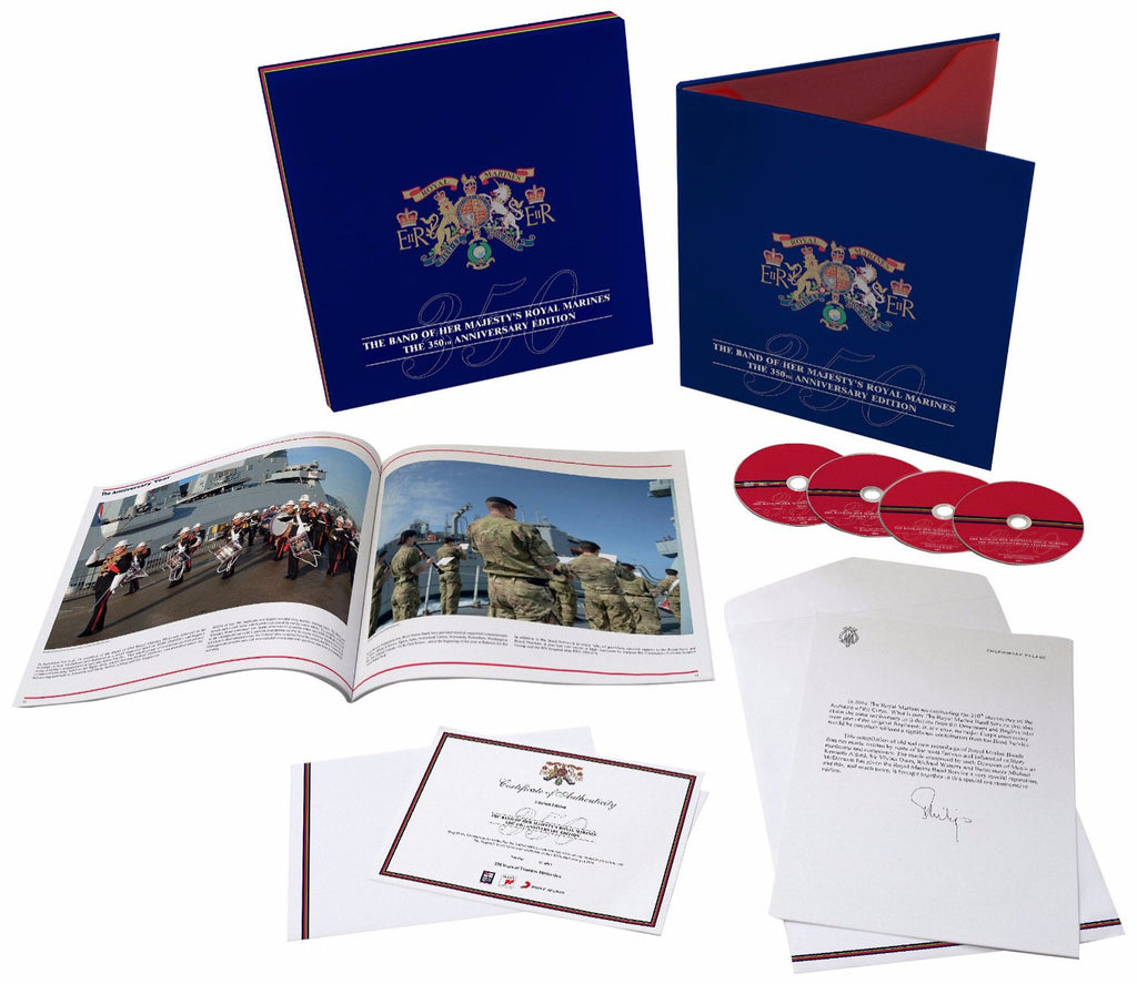 The Band of her Majesty's Royal Marines 350th Anniversary Edition