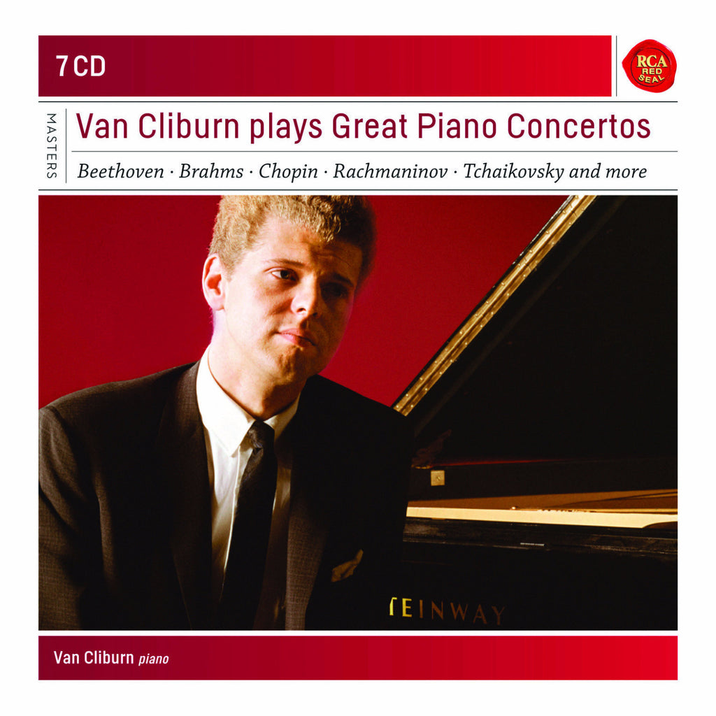 Van Cliburn Plays Great Piano Concertos