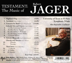 Testament: The Music of Robert Jager