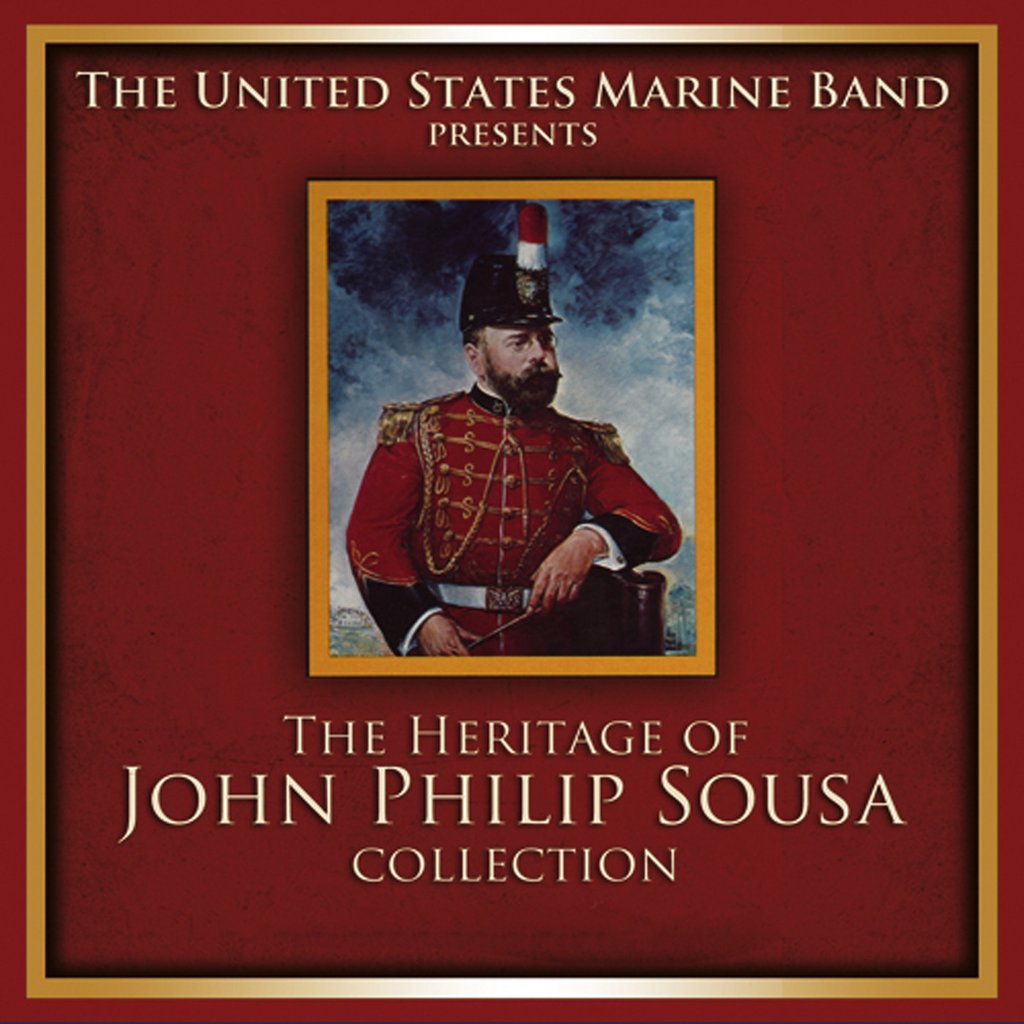 The Heritage of John Philip Sousa Collection 18-CD Set