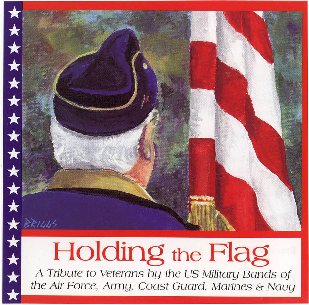Holding the Flag