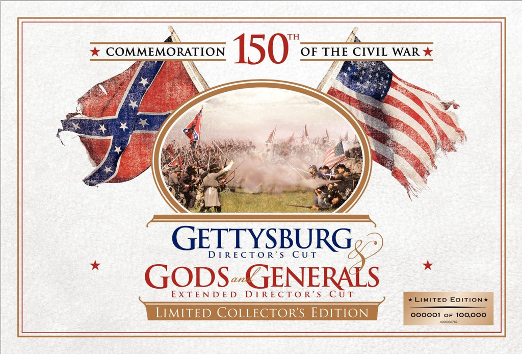 Gettysburg Director's Cut - Gods and Generals Extended Director's Cut