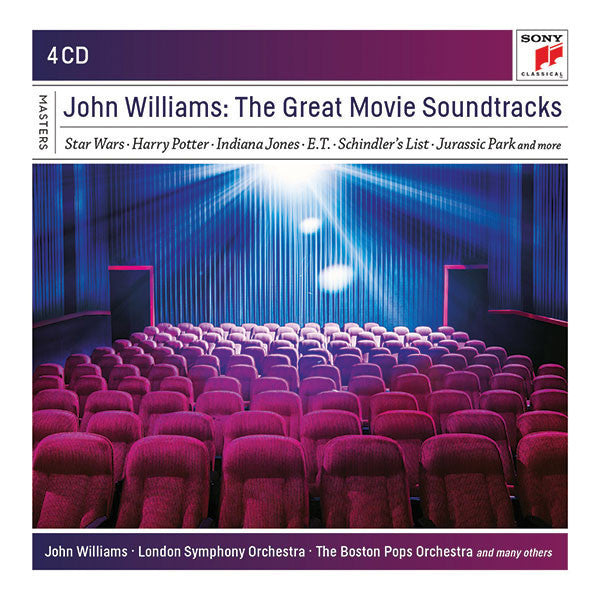 John Williams: The Great Movie Soundtracks 4-CD Box Set