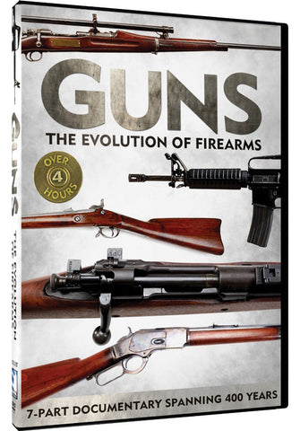 Guns: The Evolution of Firearms 2-DVD Set