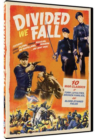 Divided We Fall: 10 Civil War Films 3-DVD Set