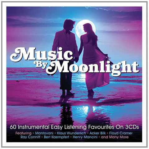 Music By Moonlight: 60 Instrumental Easy Listening Favorites