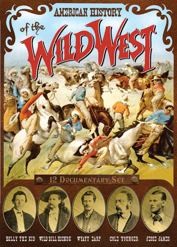 American History of the Wild West 2-DVD Set
