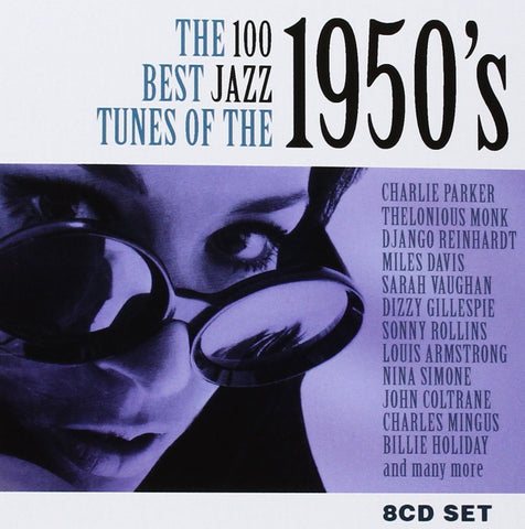100 Best Jazz Tunes of the 50s CD8 Box Set