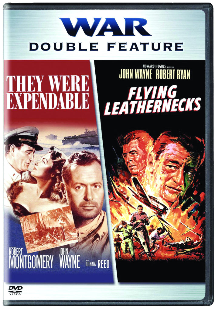 War Double Feature: They Were Expendable and The Flying Leathernecks