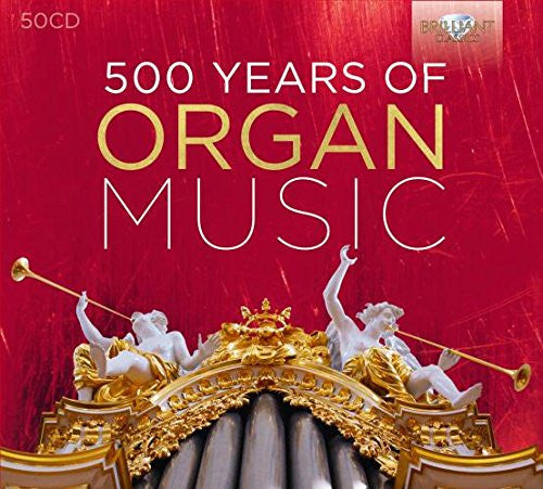 500 Years of Organ Music 50-CD Box Set