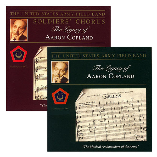 The Legacy of Aaron Copland 2CD Set