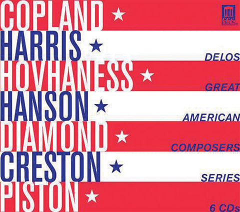 Great American Composers 6-CD Set