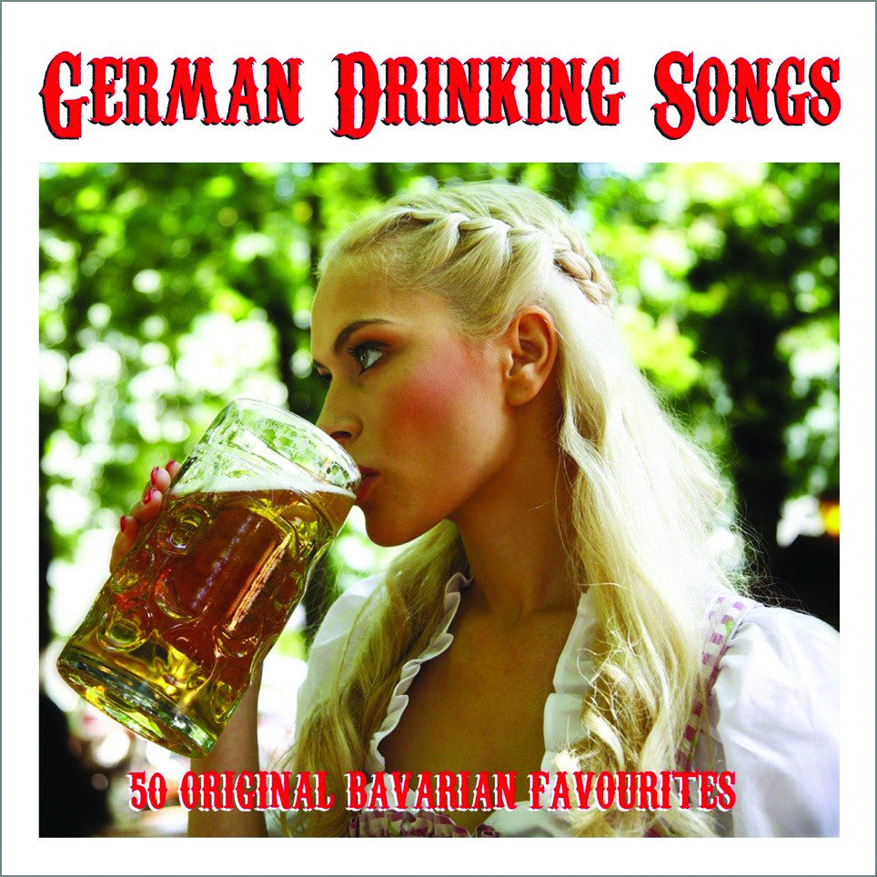German Drinking Songs 2-CD Set