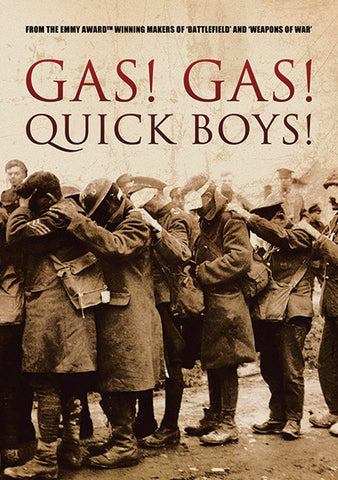 Gas! Gas! Quick Boys! DVD