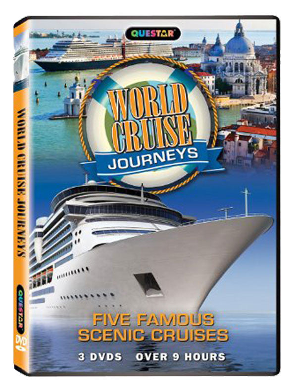 World Cruise Journeys 3-DVD Set