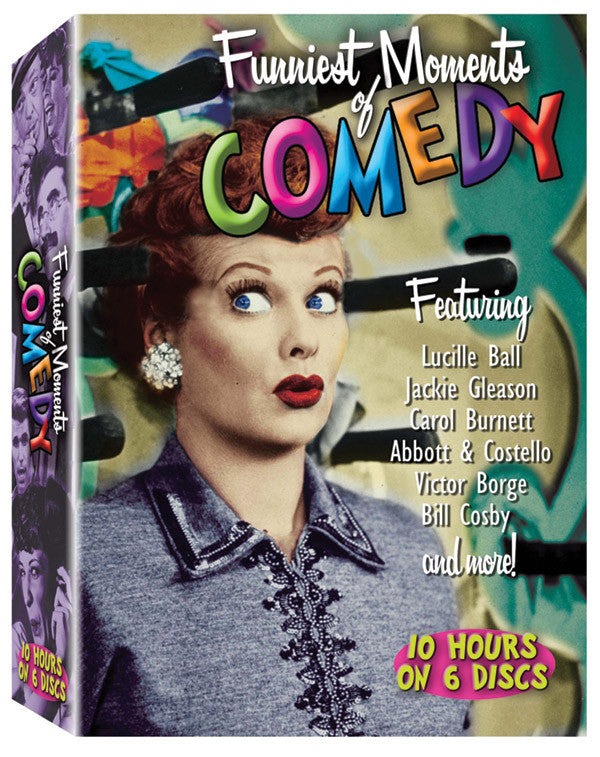 Funniest Moments in Comedy 6DVD Set