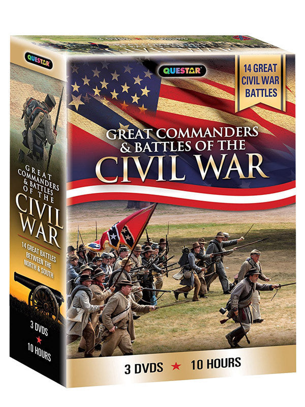 Great Commanders of the Civil War 3-DVD Set