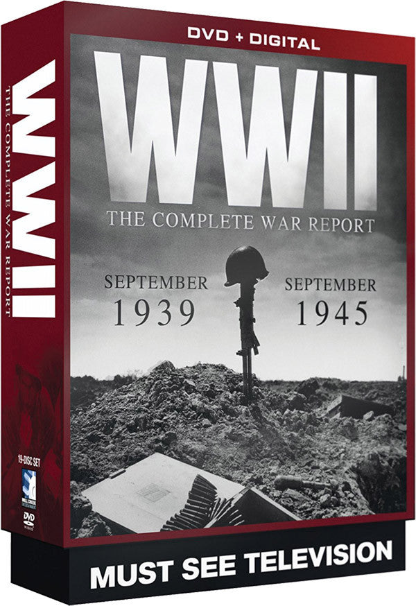 WWII: The Complete War Report 19-DVD Set