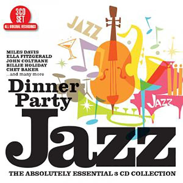 Dinner Party Jazz 3-CD Set