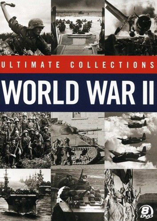 World War II Ultimate Collection 8-DVD Set