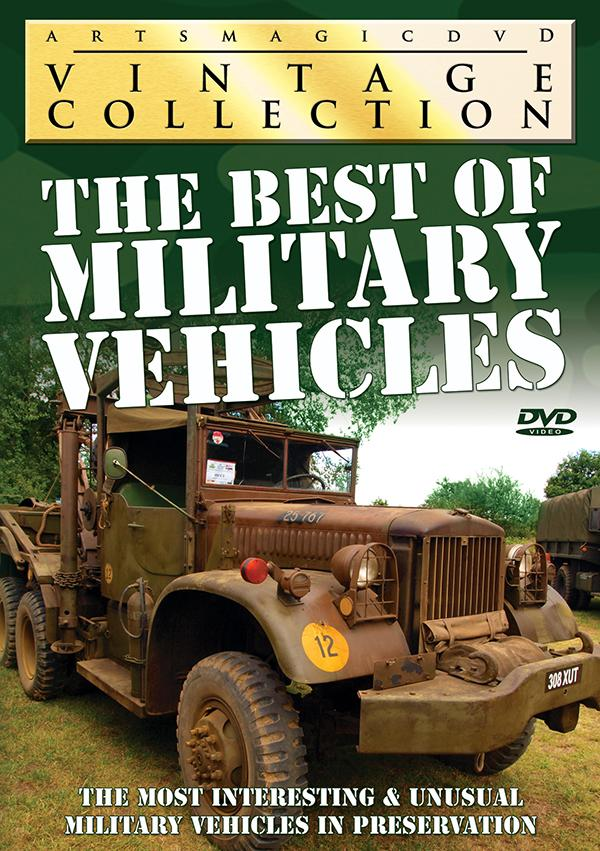 The Best of Military Vehicles DVD
