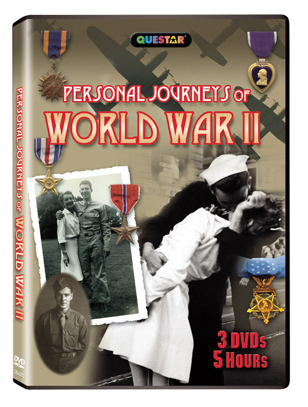 Personal Journeys of World War II 3DVD Set