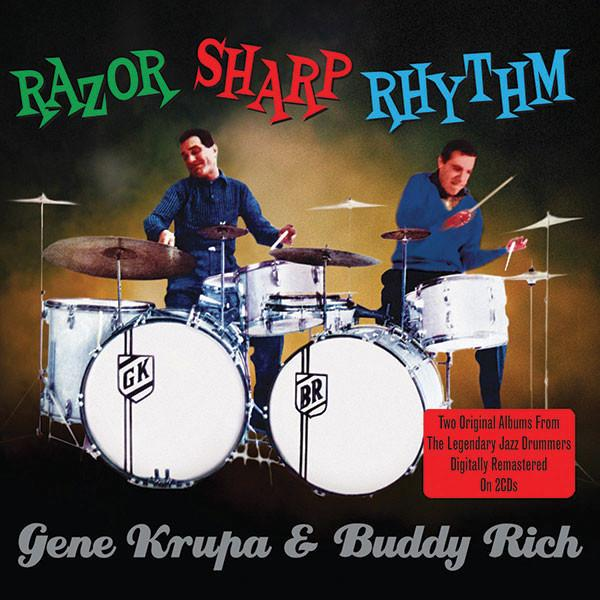 Gene Krupa: Razor Sharp Rhythm 2-CD Set