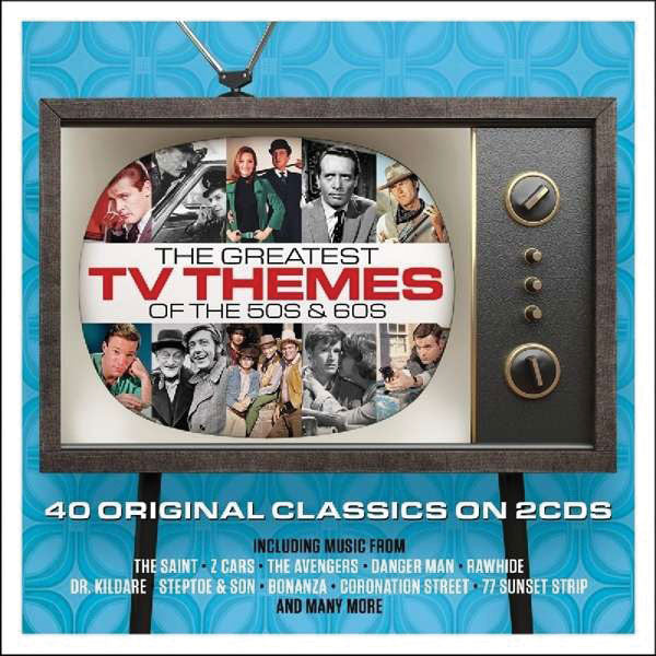 The Greatest TV Themes of the 50s and 60s 2-CD Set