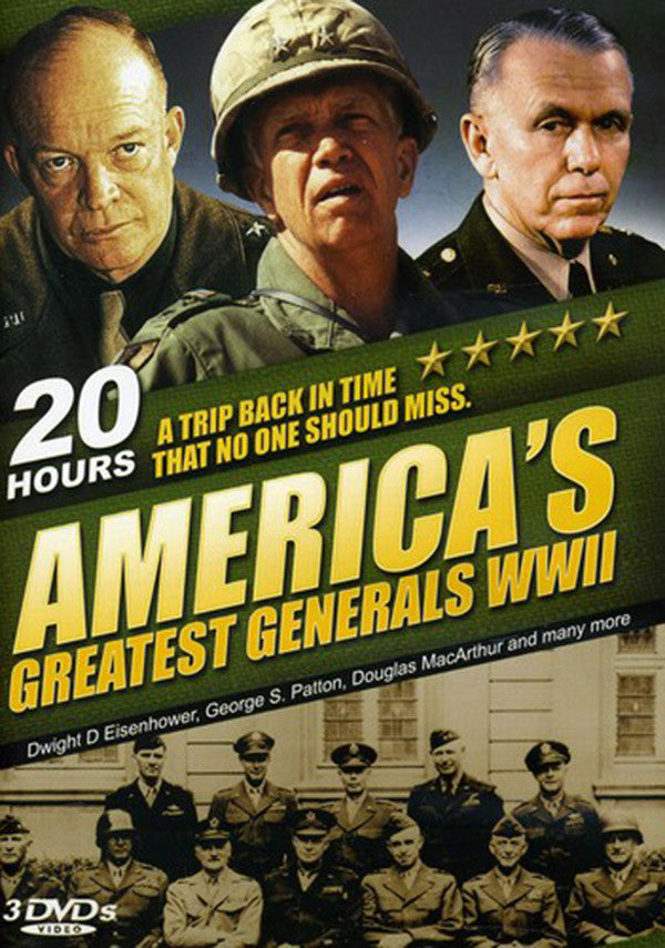 America's Greatest Generals 3-DVD Set