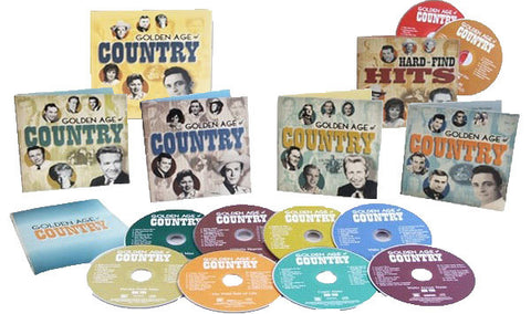 The Golden Age of Country 10CD Box Set