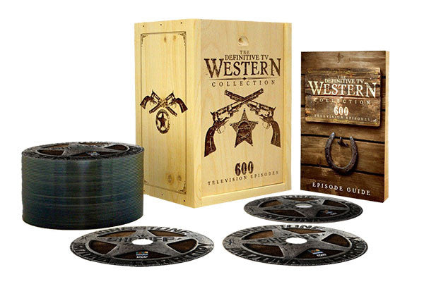 The Definitive TV Western Collection 48-DVD Box set