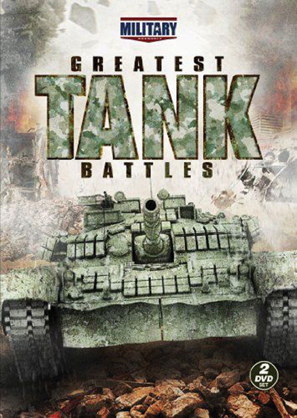 Greatest Tank Battles 2-DVD Set