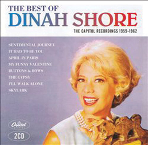 Dinah Shore: Best of the Capitol Recordings 2CD Set