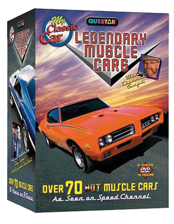 Legendary Muscle Cars 6-DVD Set