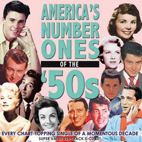 America's Number Ones of the 50's 5CD Set