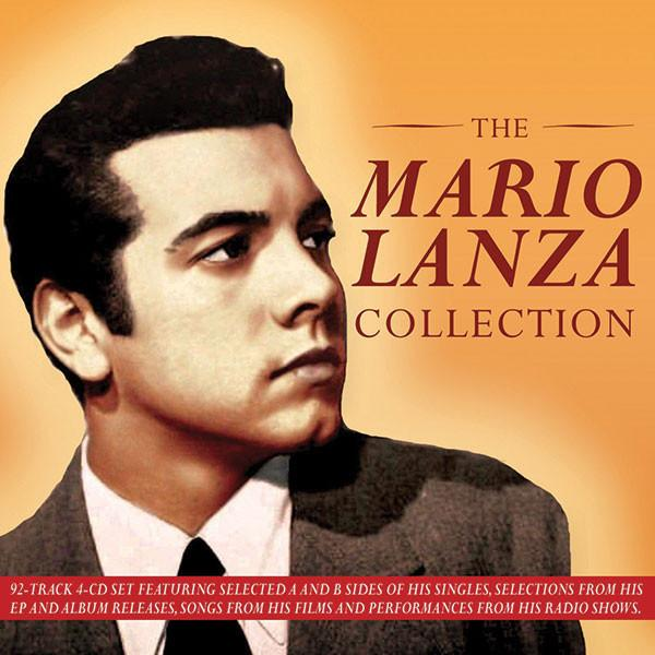Mario Lanza Collection 4-CD Set