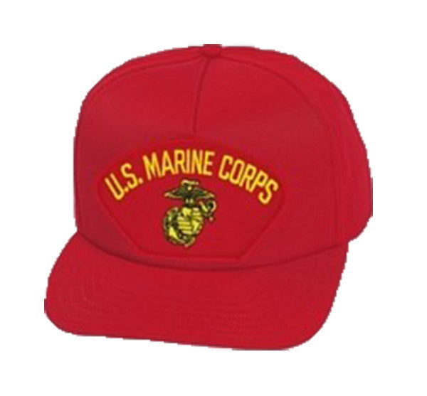 US Marine Corps Insignia Red Ball Cap