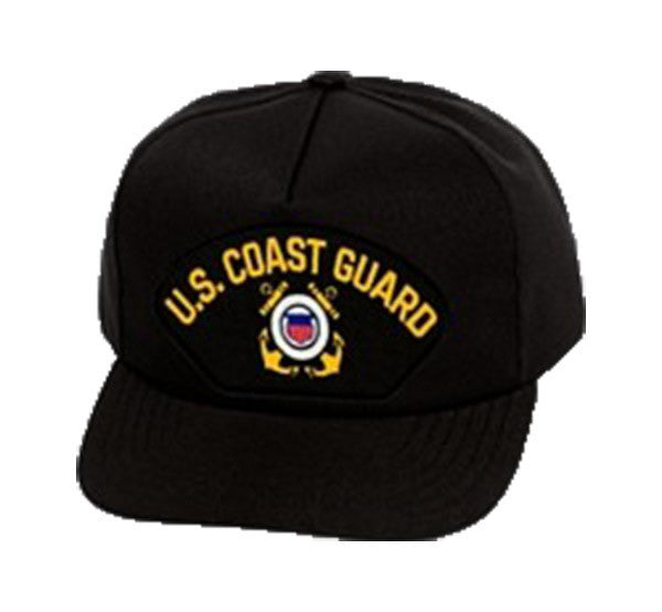 US Coast Guard Black Ball cap
