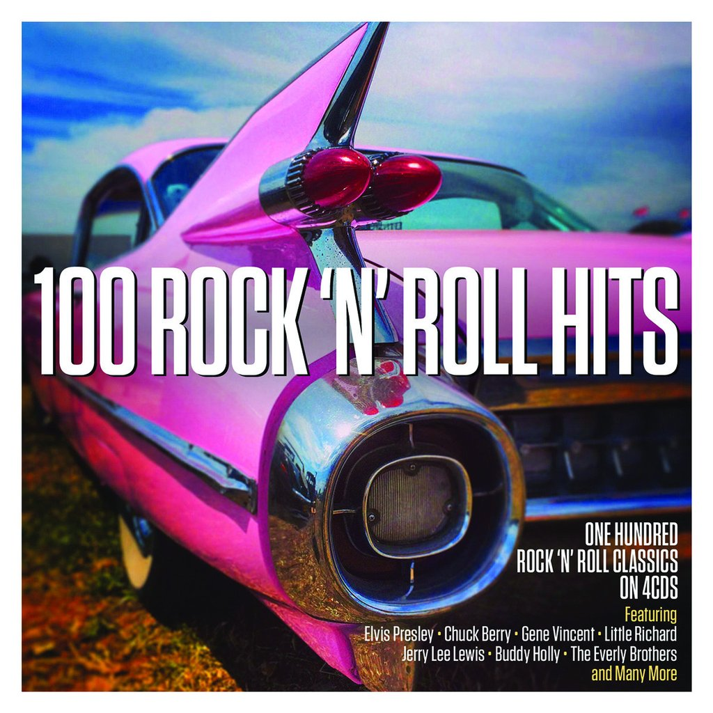 100 Rock 'n Roll Hits 4-CD Set