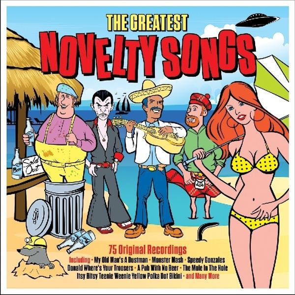 The Greatest Novelty Songs 3-CD Set