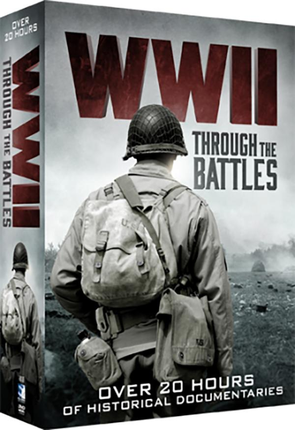 WWII: Through the Battles 5-DVD Set
