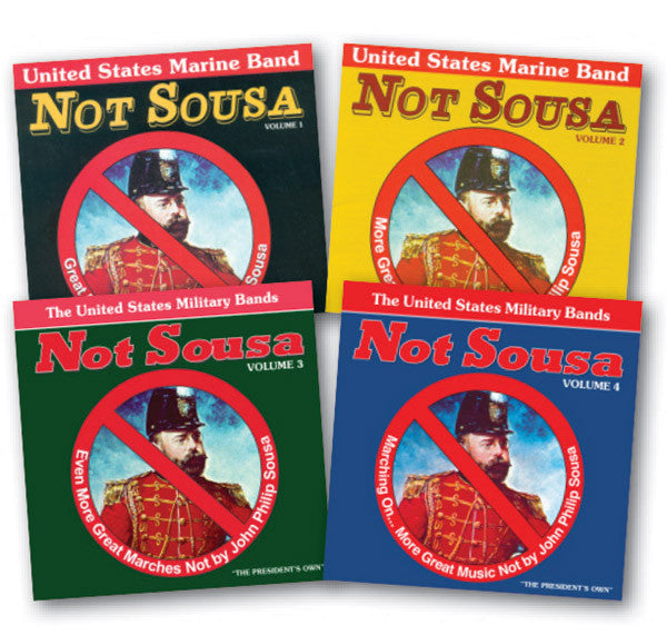 The Not Sousa Collection 4-CD Set