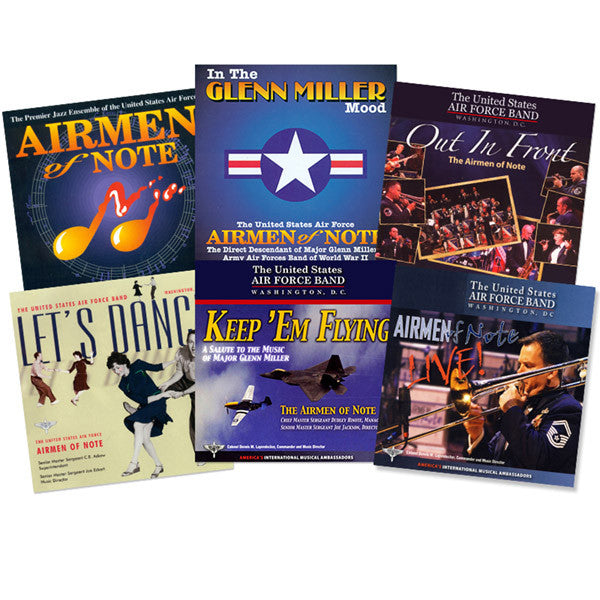 U.S. Air Force Band and Airmen of Note Collection 6-CD Set