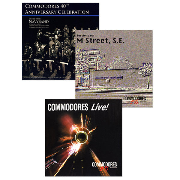 The U.S. Navy Commodores Jazz Ensemble Collection 3-CD Set